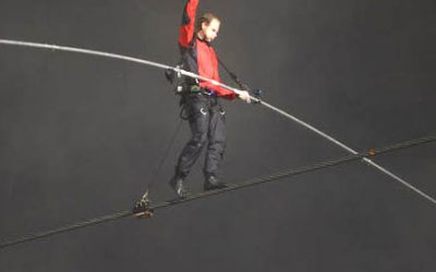 10 lessons from stuntman Nik Wallenda