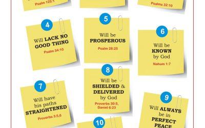10 Guarantees When You Trust God