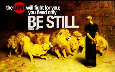 Hungry Lions Vs. Daniel (Daniel's God) – Pic