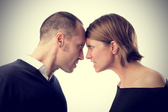 Dealing with anger in married couples