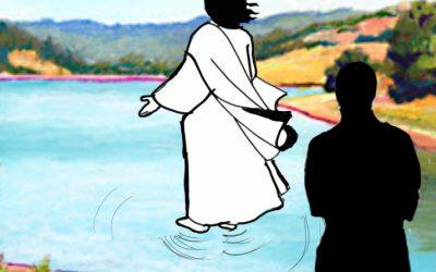 The Man Walking Behind Jesus…
