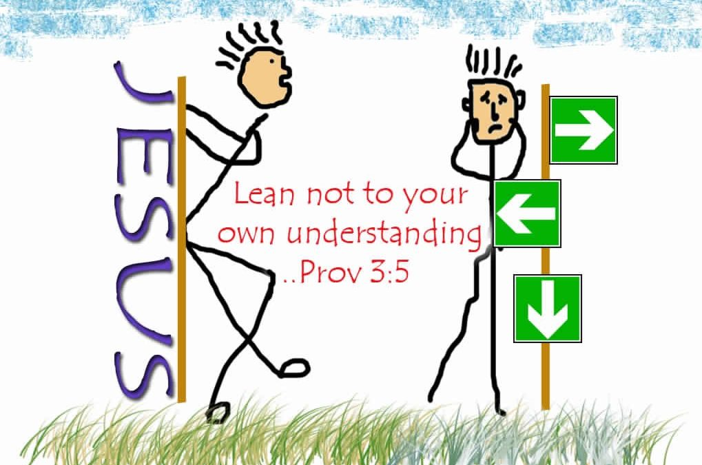Lean on Jesus
